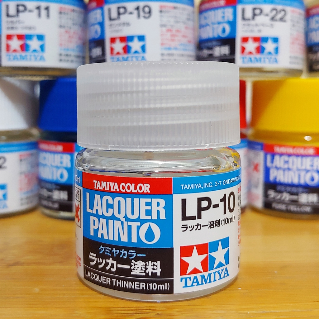 Tamiya Sơn Lacquer LP-10 Lacquer Thinner 10ml