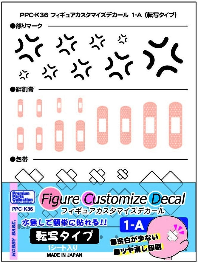 Hobby Base Figure Customize Decal