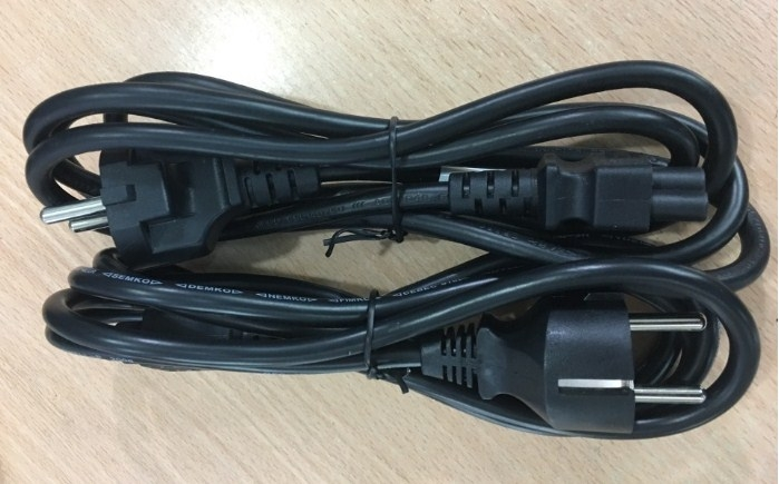Cáp Nguồn Longwell LP-34A LS18 IEC C5 250V 2.5A Euro Power Cord 2 Prong 3x0.75mm Length 1.8M