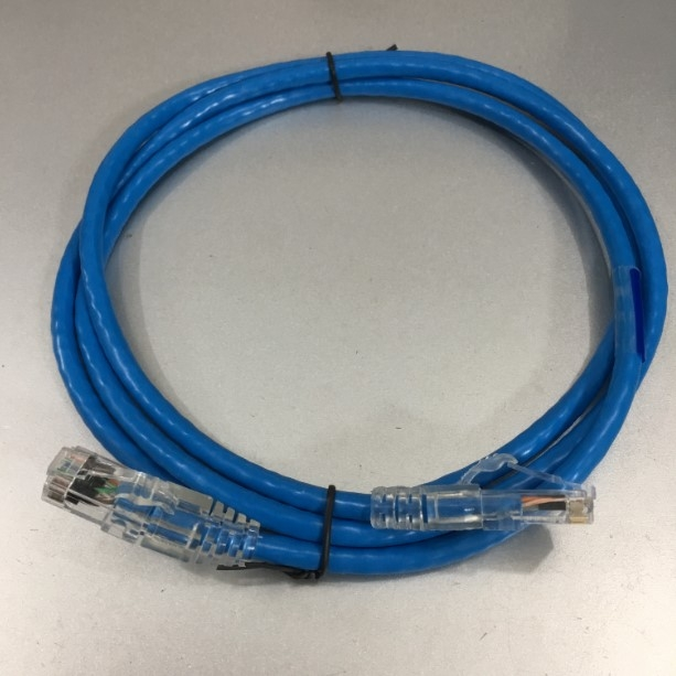 Dây Nhẩy COMMSCOPE Cat6 RJ45 UTP Patch Cord Straight-Through Cable 1859247-5 PVC Jacketed Blue Length 1.5M