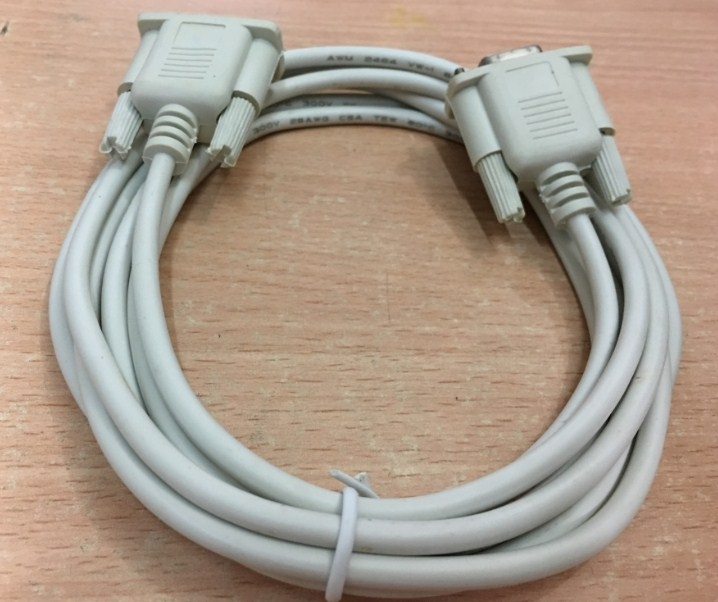 Cáp RS232 Straight Through Serial Cable DB9 Female to DB9 Female DCE to DCE Connection Length 5M