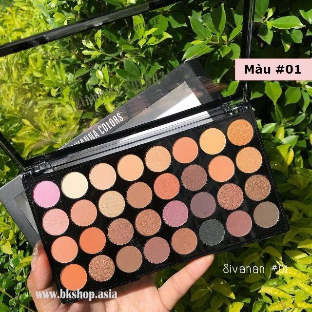 [Phấn Mắt Thái Lan 32 Ô] Sivanna Colors UlTra Pro Make Up Palette HF372