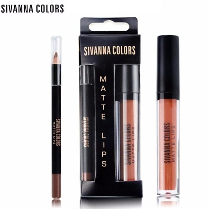 Set Son Kem Lì Sivanna Colors Matte Lips Hf7004