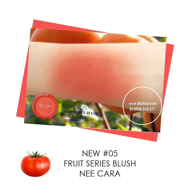 Phấn Má Hồng NeeCara Fruit Series Blush N314