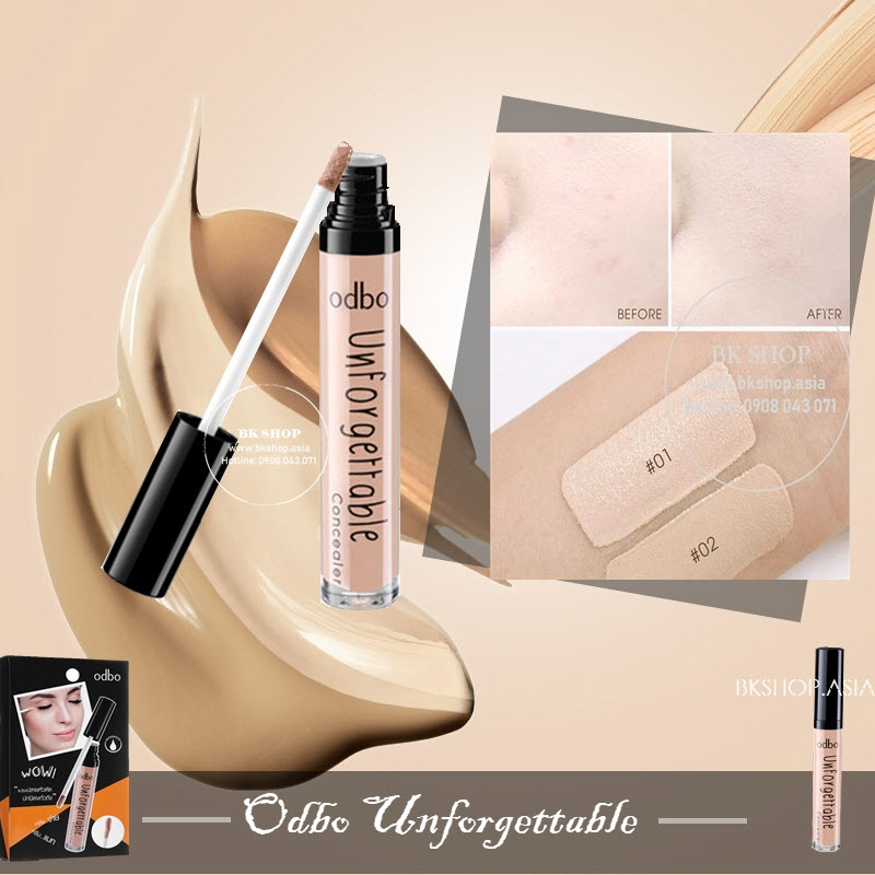 Che khuyết điểm Odbo Unforgettable Concealer OD429