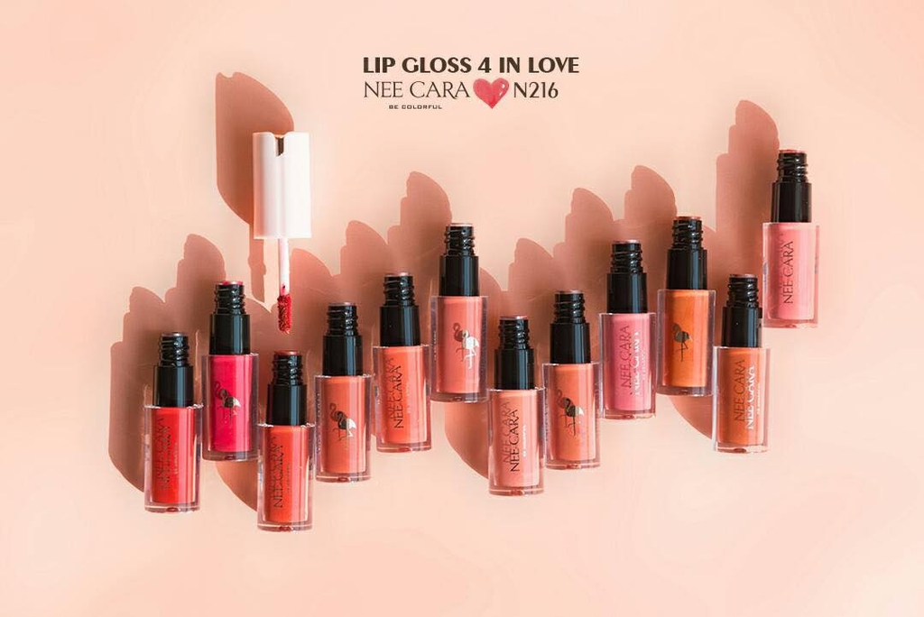Son Kem Lỳ Nee Cara Lipstick 4 In Love Flamingo N216