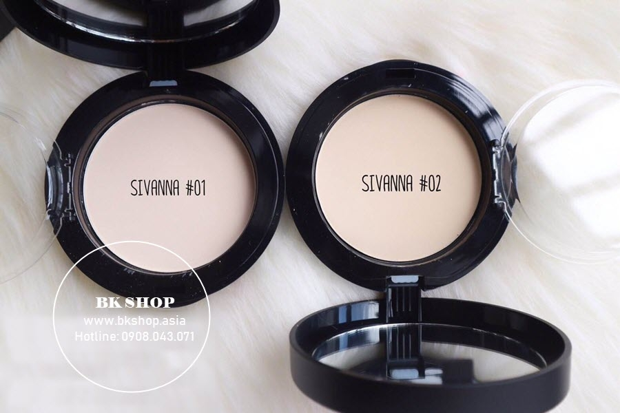 Phấn Nền Sivanna Super Cover Highest Wear Pact HF201