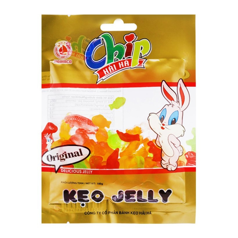 Kẹo Jelly chip chip 100g