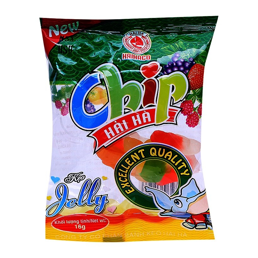 Kẹo Jelly Chip Chip 16g