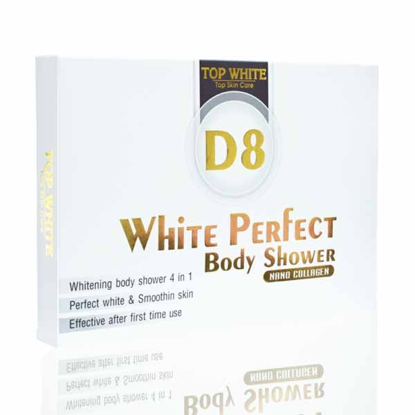 White Perfect D8 Body Shower
