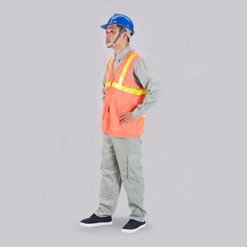 Áo phản quang màu cam - Đảm bảo chất lượng, ứng dụng đa dạng Bảo hộ lao  động Thăng Long