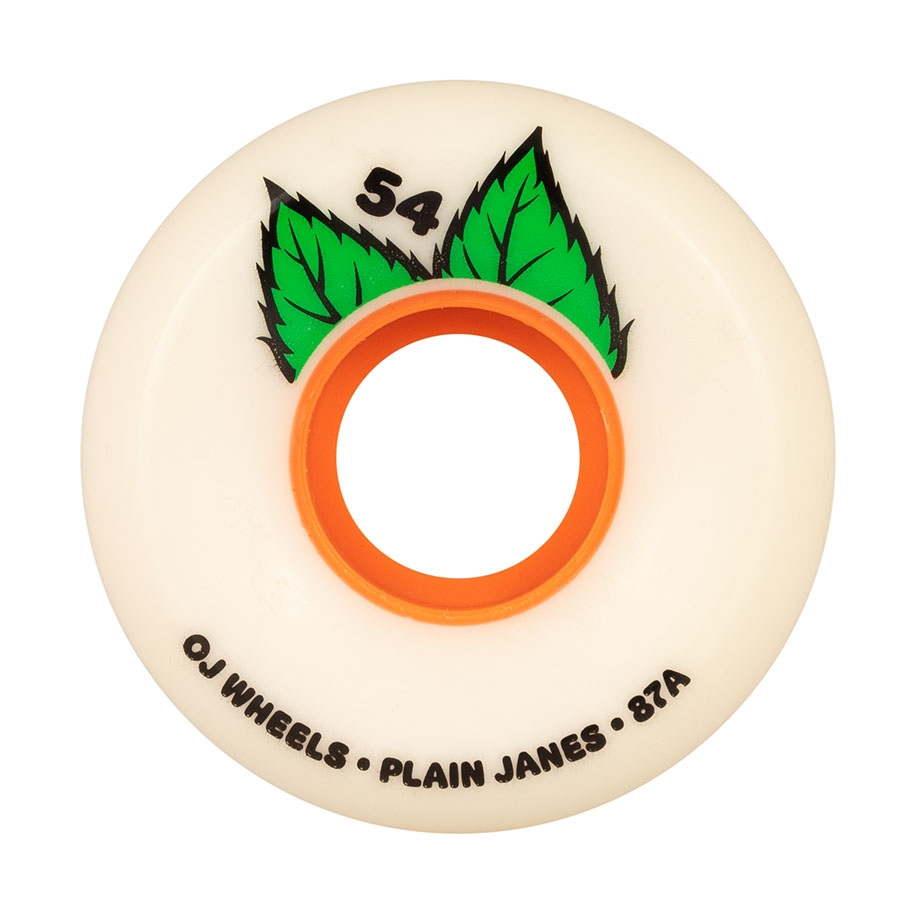 OJ 54MM PLAIN JANE KEYFRAME 87A WHEELS (SOFT WHEELS)