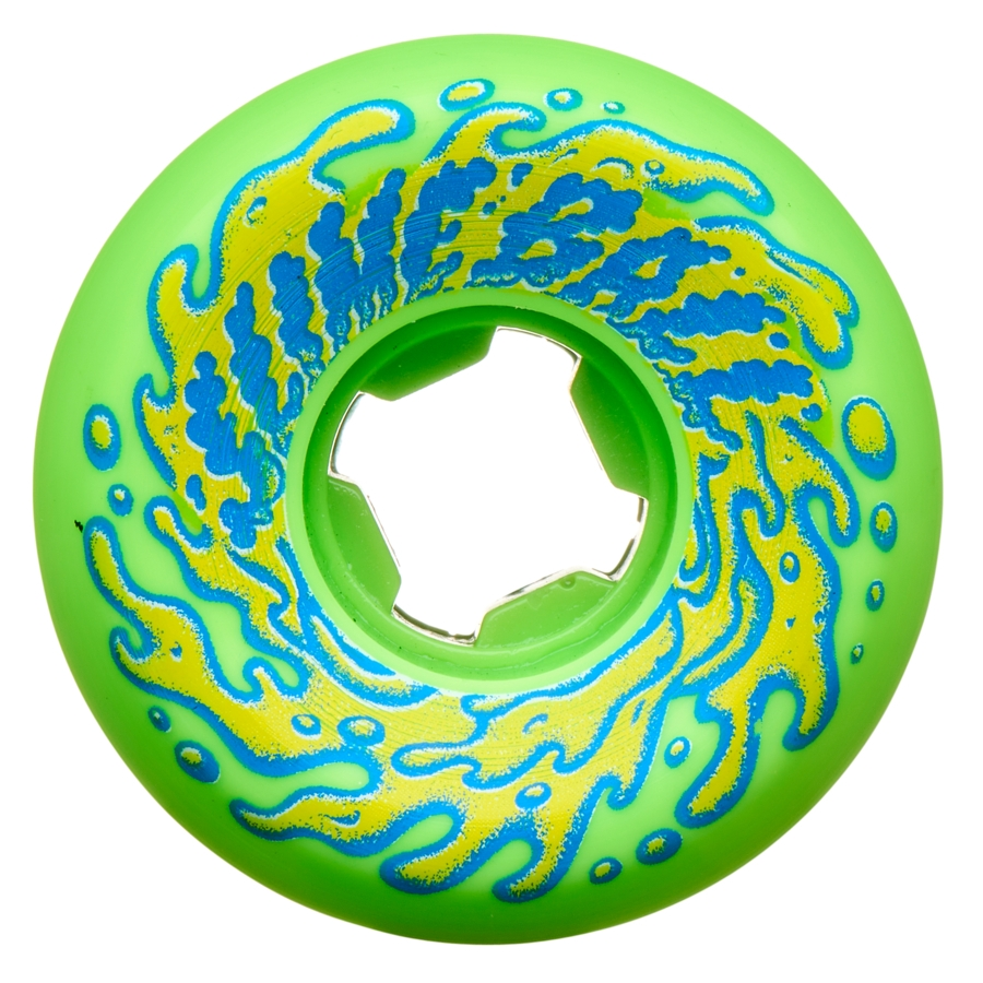 SLIME BALLS 53MM DOUBLE TAKE VOMIT MINI GREEN BLACK 97A WHEELS