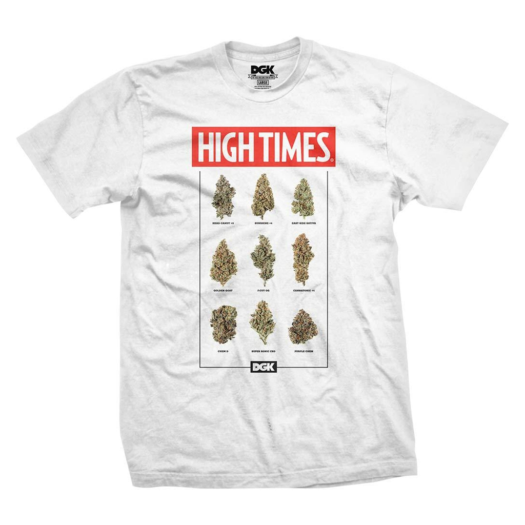 DGK X HIGHTIMES FIRE WHITE