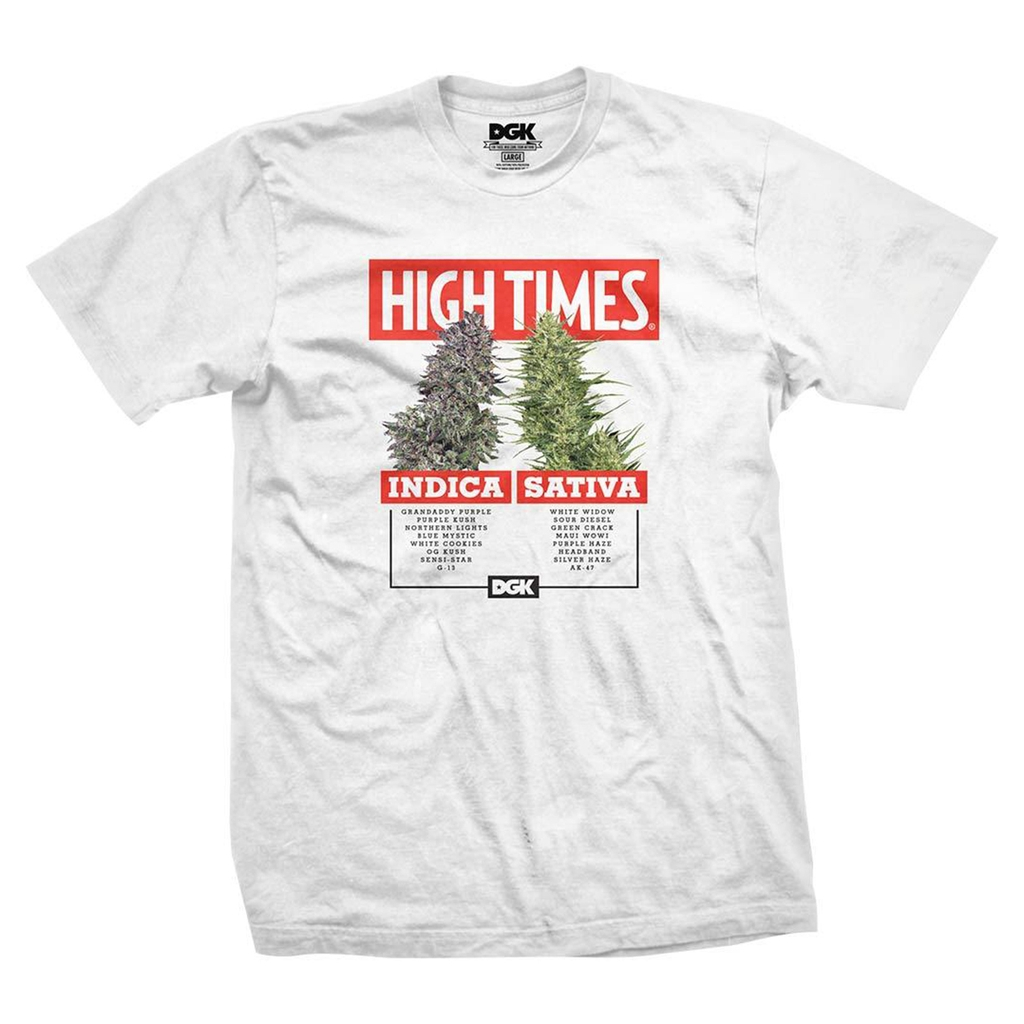 DGK X HIGHTIMES OPTIONS WHITE