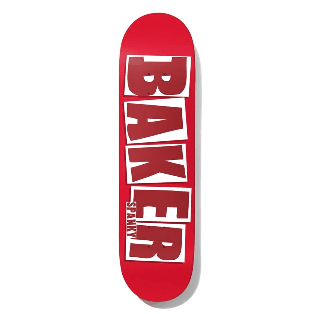 BAKER SPANKY BRAND NAME RED DECK 8.0