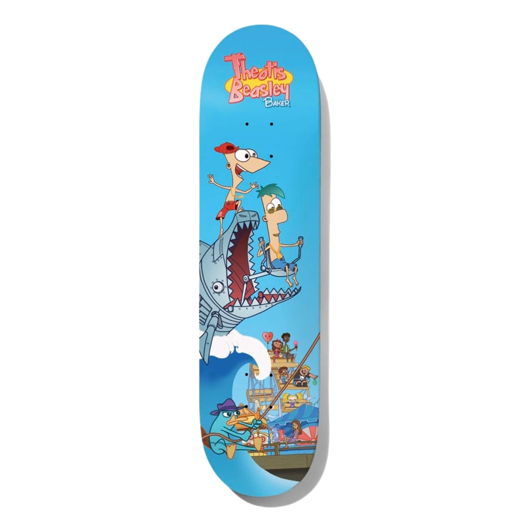 BAKER THEOTIS STEP BROTHERS DECK 8.0