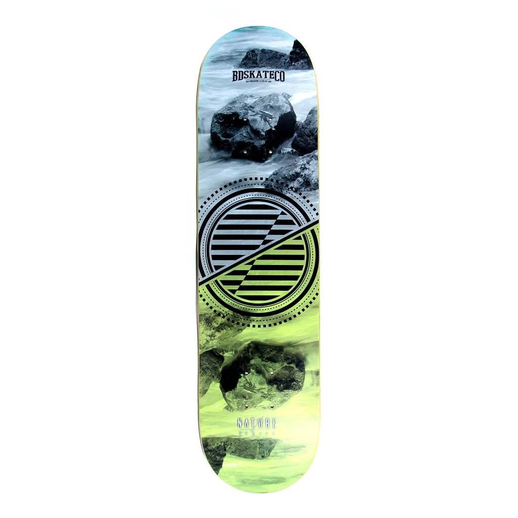 BDSKATECO NATURE ROCK DECK 8.0
