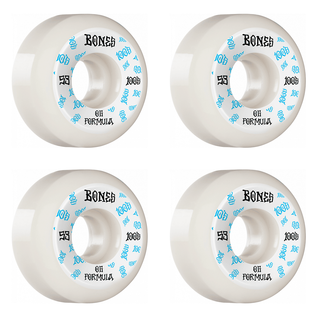 BONES 100S OG #3 V5 53MM WHEELS