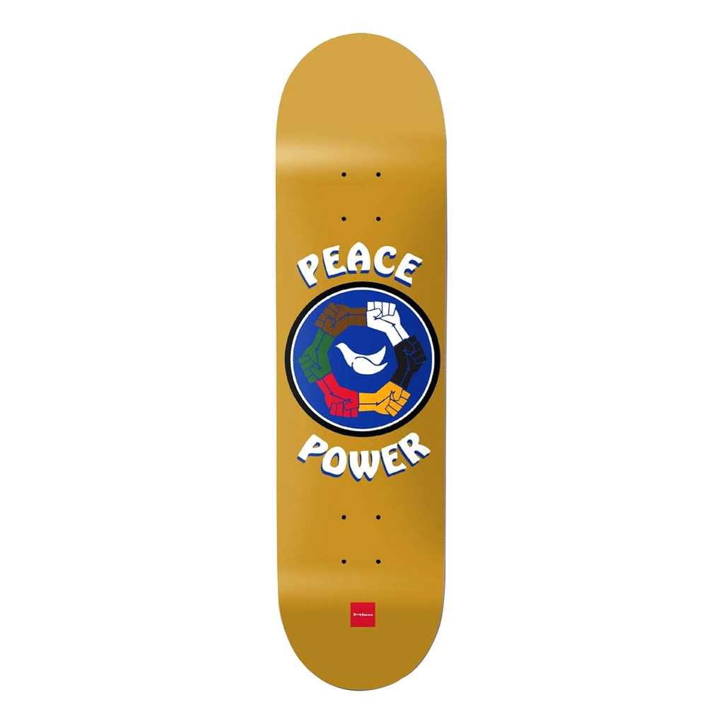 CHOCOLATE ANDERSON PEACE POWER DECK 8.0