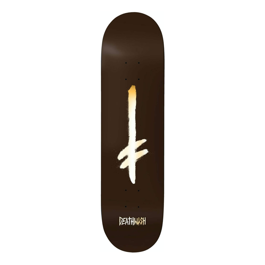 DEATHWISH TEAM CREDO BROWN/GOLD DECK 8.5