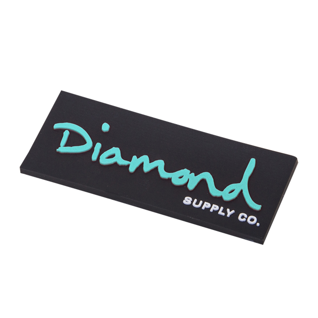 DIAMOND OG SCRIPT MAGNET BLACK/DIAMOND BLUE