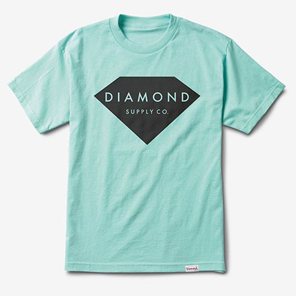 DIAMOND SOLID STONE TEE DBLUE XL
