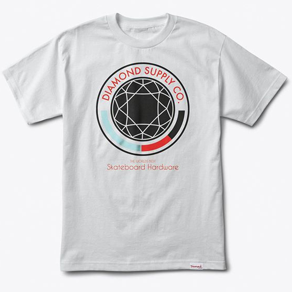 DIAMOND WORLDS BEST TEE WHITE