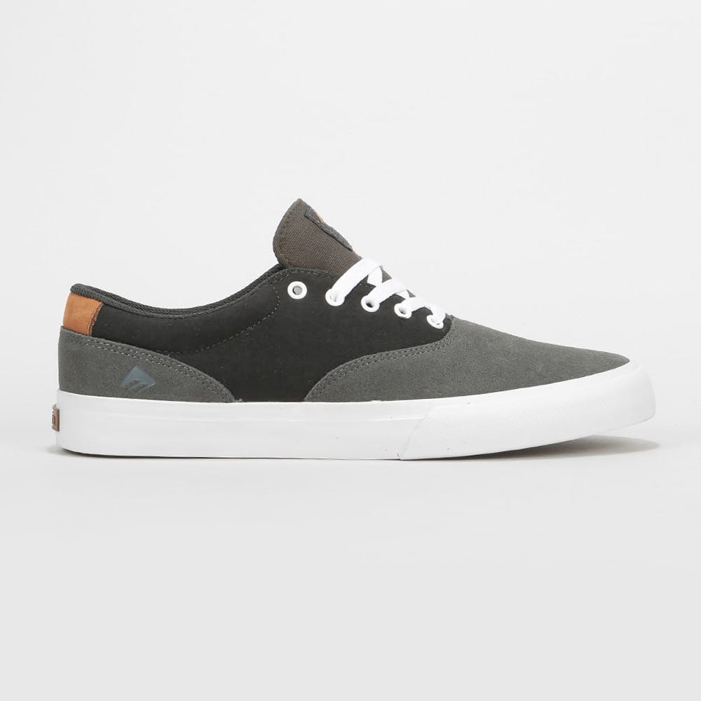EMERICA PROVOST SLIM VULC - GREEN / DARK GREY / GOLD