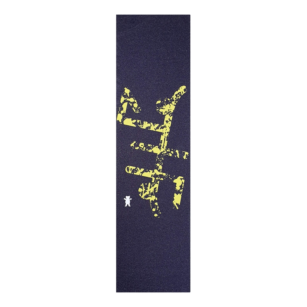 GRIZZLY X JHF NAVY/YELLOW GRIPTAPE