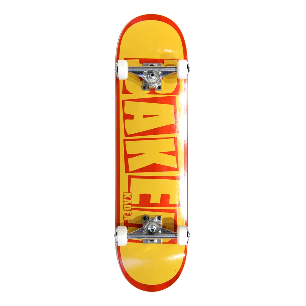 BAKER KADER BRAND NAME YELLOW/RED CUSTOM COMPLETE 8.0
