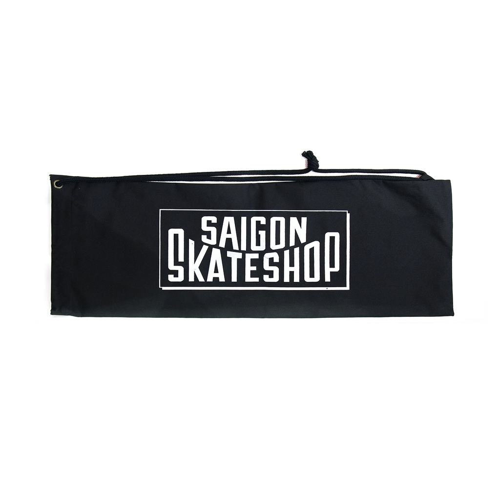 SAIGON SKATESHOP SKATE BAG BLACK