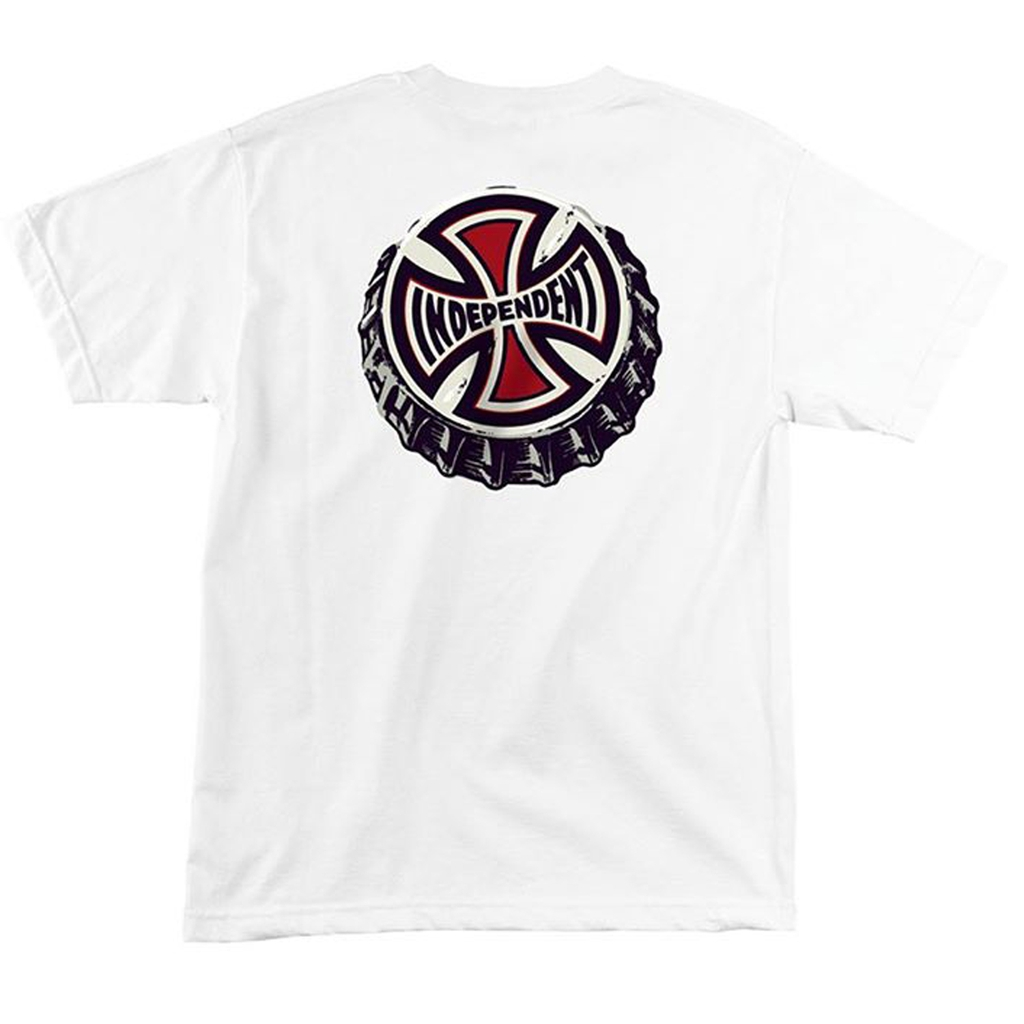 Independent Only Choice Regular SS T-Shirt White  S