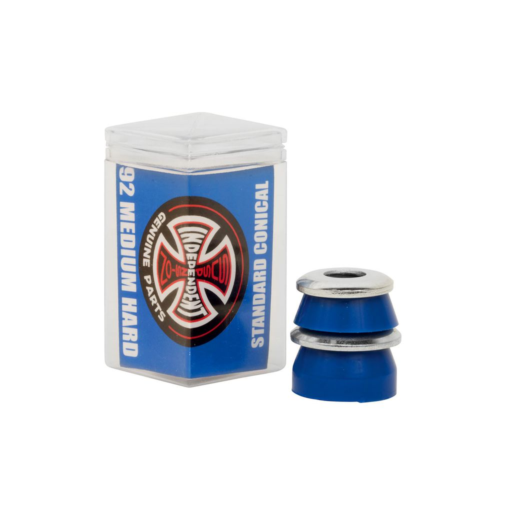 INDEPENDENT STANDARD CONICAL MEDIUM HARD (92A) BLUE BUSHINGS