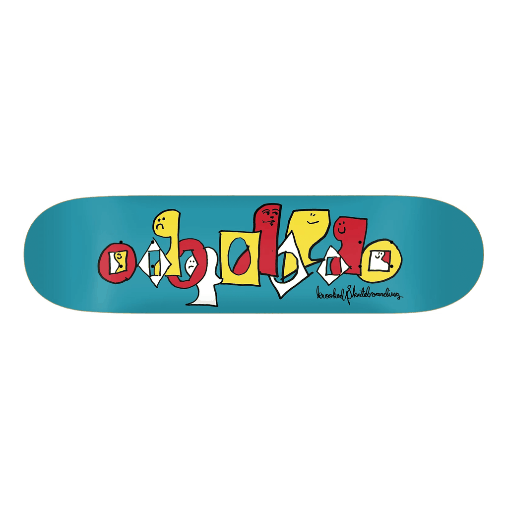 KROOKED PALS DECK 8.25