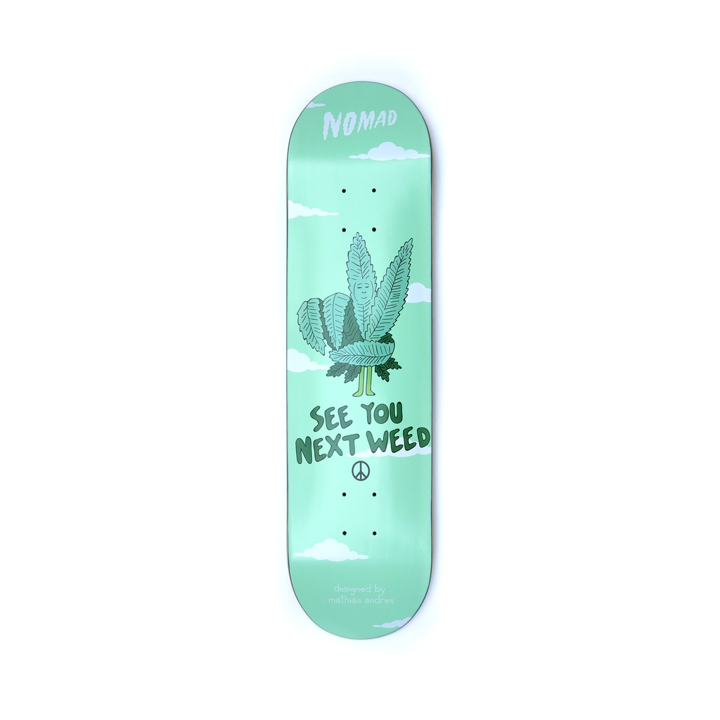 NOMAD NEXT WEED DECK 8.0