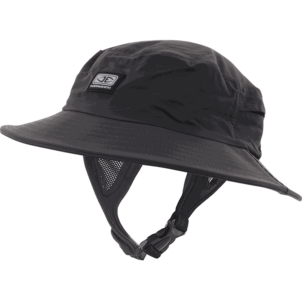 "O&E MENS BINGIN SOFT PEAK SURF HAT L/24.02"" - BLACK"