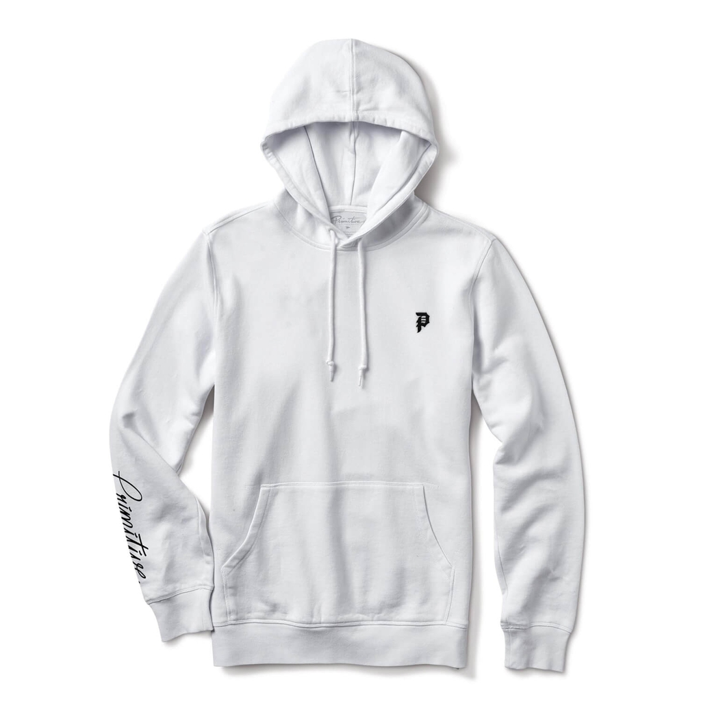 PRIMITIVE BEACON HOODIE WHITE