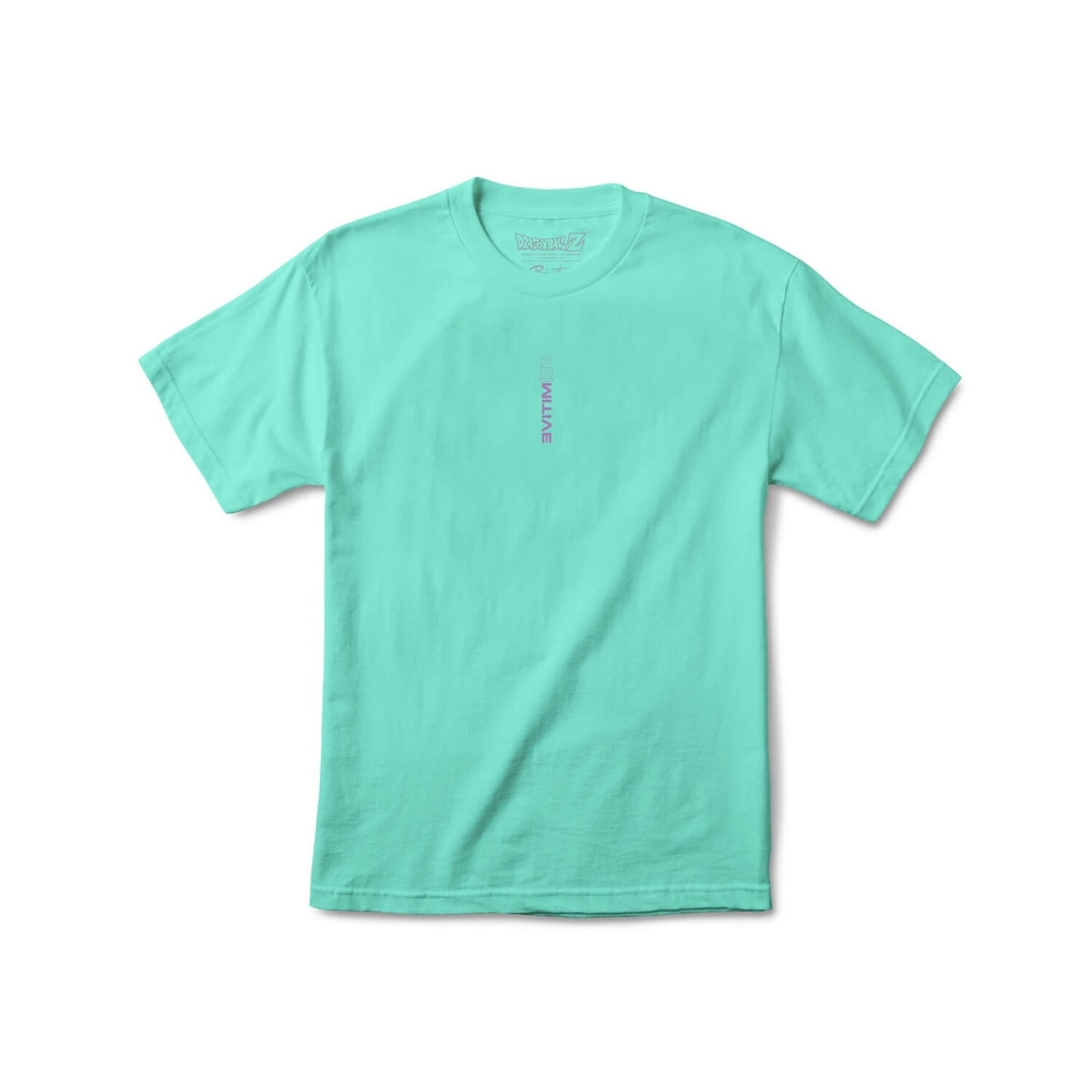 PRIMITIVE FRIEZA FORMS SS TEE CELADON