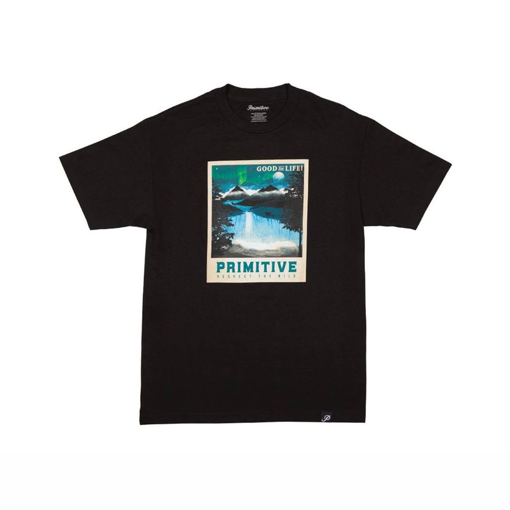 PRIMITIVE RANGE TEE - BLACK