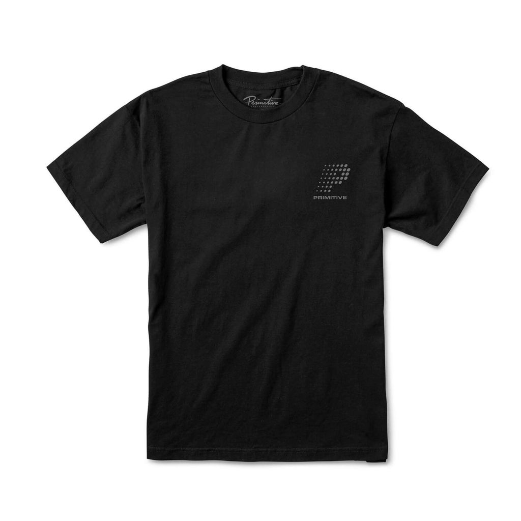 PRIMITIVE VHS TEE BLACK