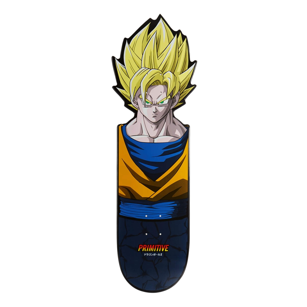 PRIMITIVE X DBZ TEAM GOKU CNC DECK 10.0