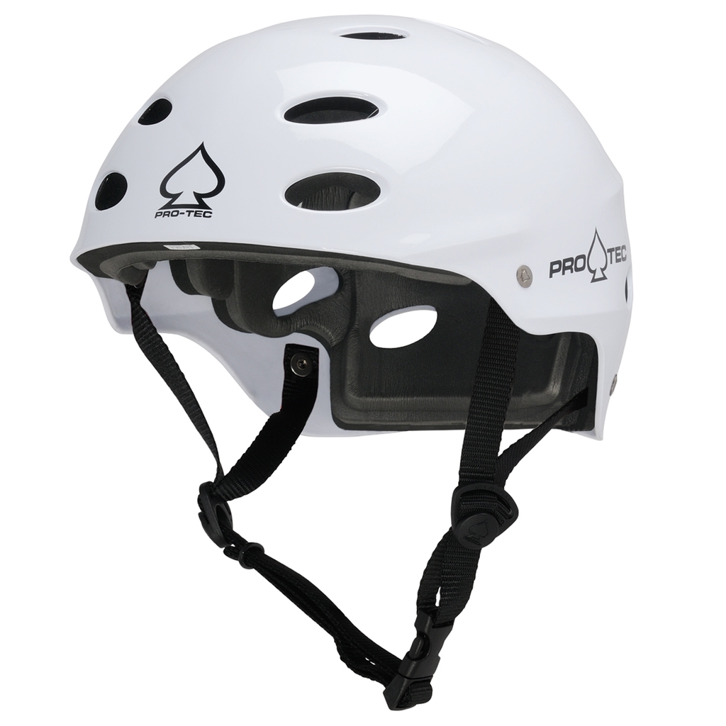 PRO-TEC ACE WATER SATIN WHITE HELMET