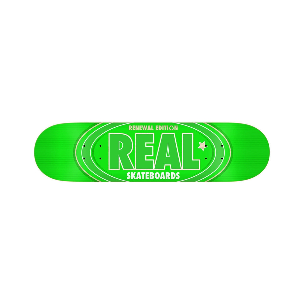 REAL OVAL REMIX GREEN 7.75 DECK