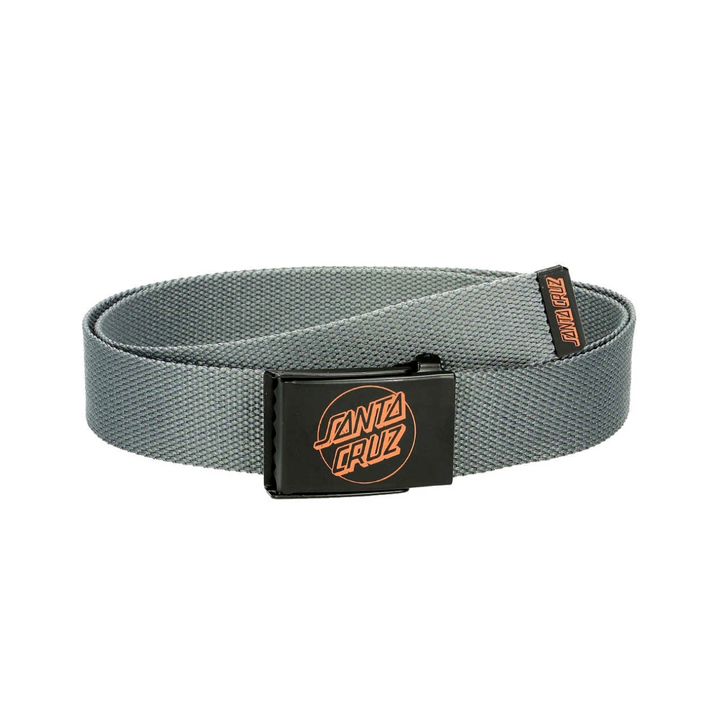 SANTA CRUZ SIMPLE WEB BELT CARBON