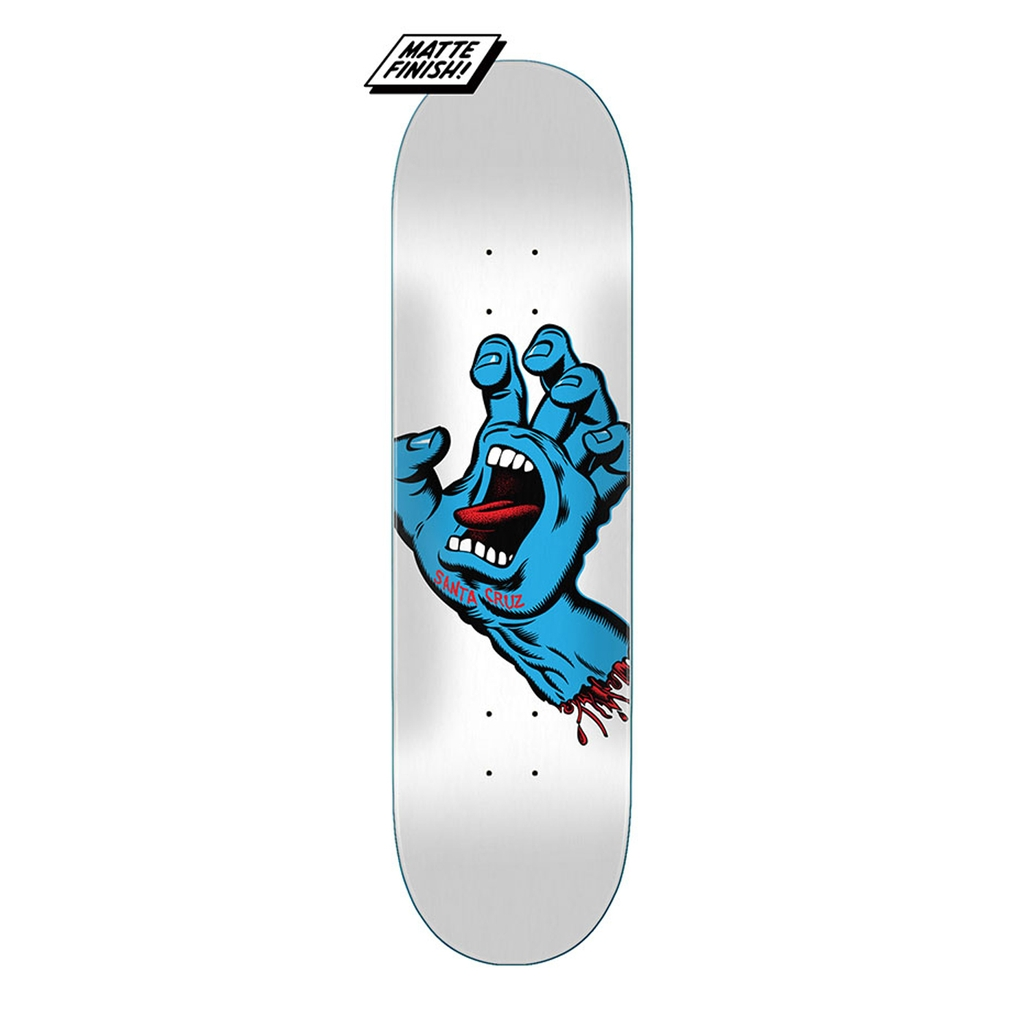 SANTA CRUZ SCREAMING HAND DECK 8.25