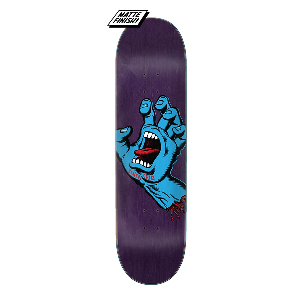 SANTA CRUZ SCREAMING HAND DECK 8.375