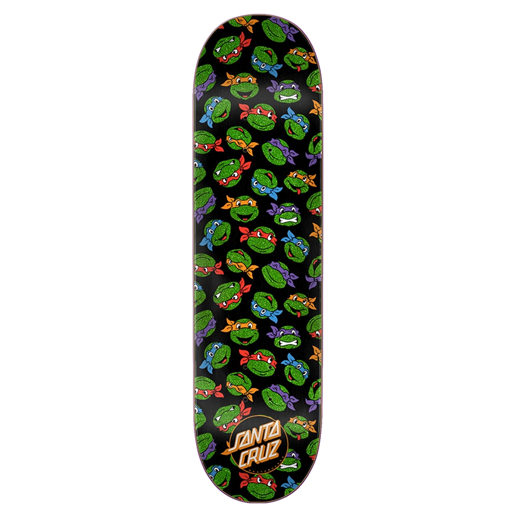 SANTA CRUZ TMNT ALLOVER TURTLE 8.25 DECK