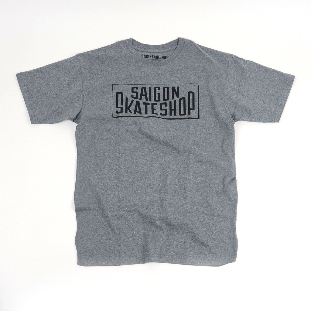 Saigon Skateshop OG Logo grey t-shirt