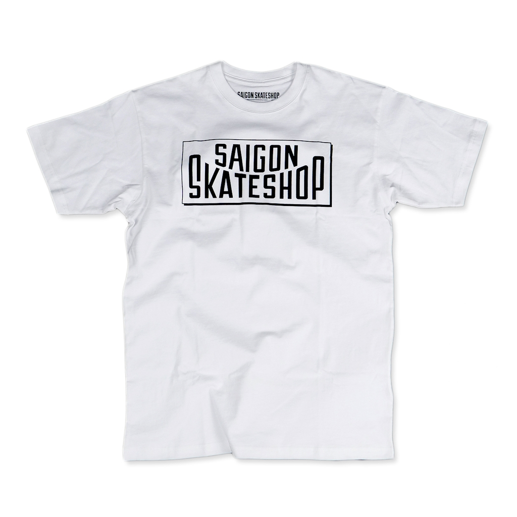 Saigon Skateshop OG Logo white t-shirt